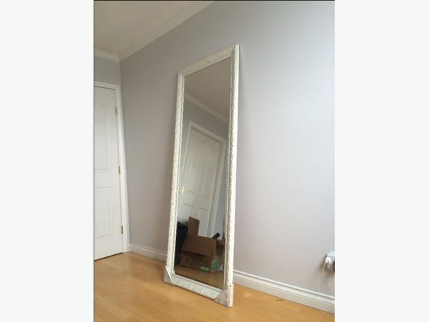 Beautiful antique style large mirror victoria city victoria for White stand up mirror