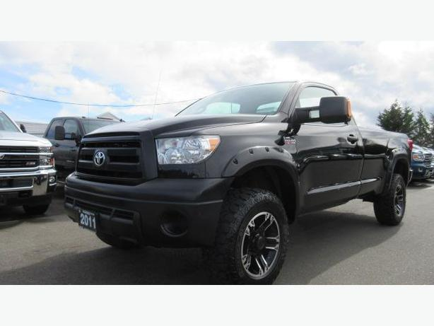 used 2011 toyota tundra 4x4 regular cab long box for sale in parksville outside comox valley. Black Bedroom Furniture Sets. Home Design Ideas