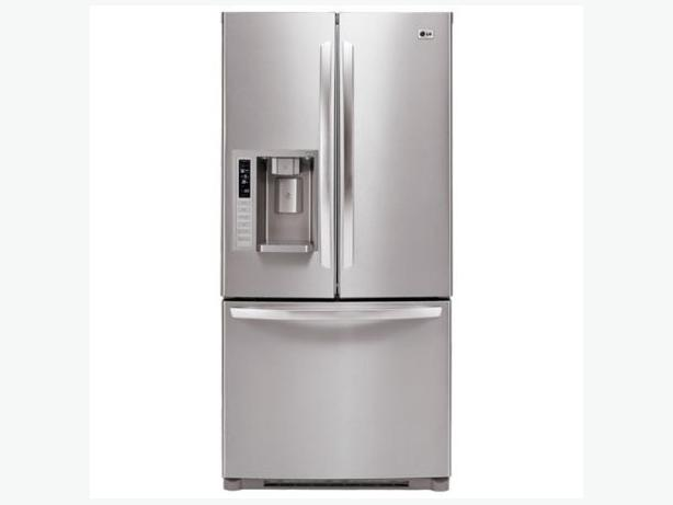 33 Quot Lg Stainless Steel French Door Fridge With 1 Year