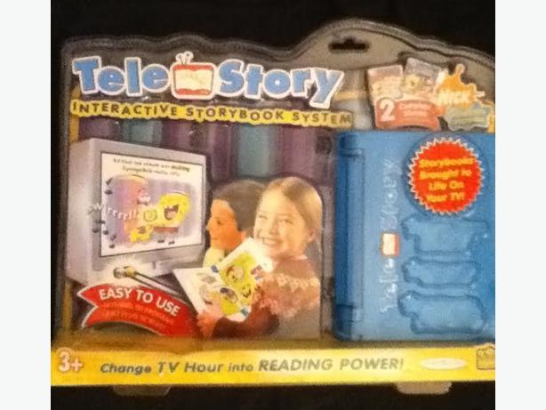 TELE STORY INTERACTIVE STORYBOOK SYSTEM - NEW
