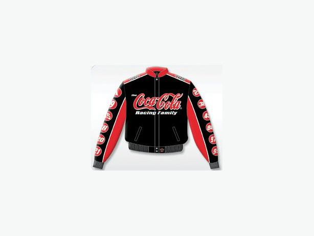 COCA COLA NASCAR RACING TEAM JACKET XL