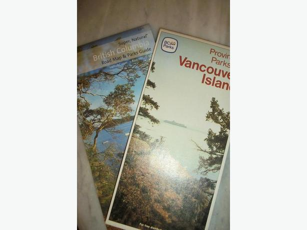 BC Map and Van Is Park Guide