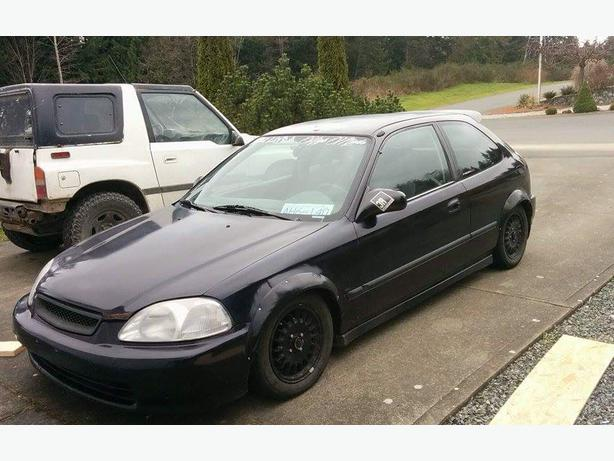 98 honda civic hatchback 1 6 vtec outside nanaimo nanaimo. Black Bedroom Furniture Sets. Home Design Ideas