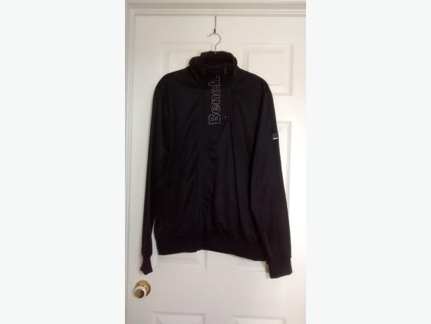 Brand New - Men's Black BENCH Zip Up Sweater - Size XL