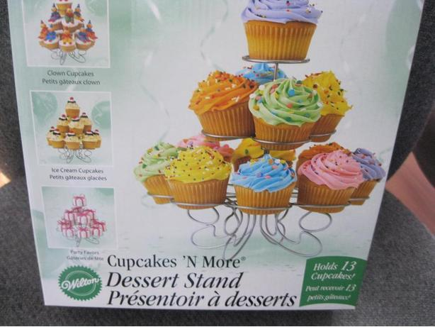 Brand New & Unopened - Wilton Cupcakes 'N More Dessert Stand