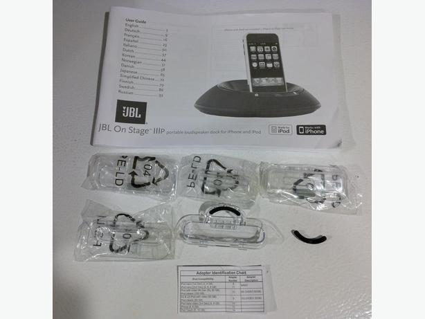 iPhone / iTouch adapters (older generation) for docking stations