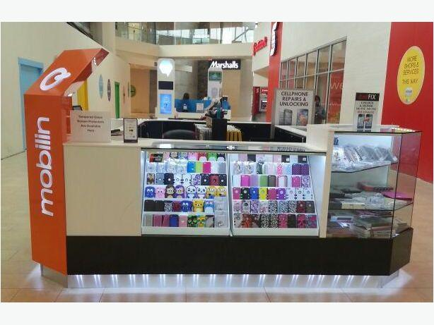 *Hillside Centre* Cell Phone Repair ,Unlocking & Accessories-Mobilinq Kiosk