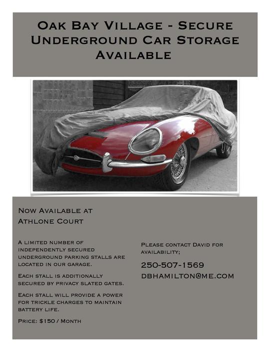 Car Storage Montreal West Island