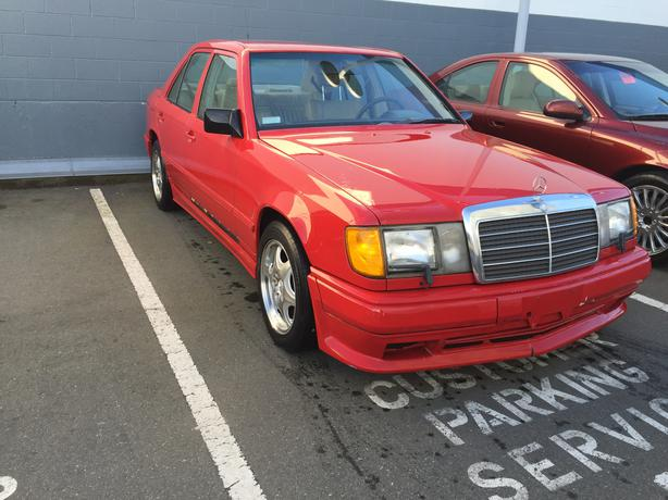 1988 mercedes benz 300e 118000km victoria city victoria for Mercedes benz 1900 model