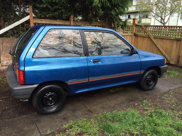 1990 Ford Festiva Lowered The Price Again
