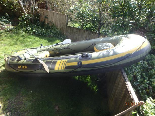 Sevylor fish hunter 360 12 foot inflatable w motor mount for Sevylor fish hunter 360
