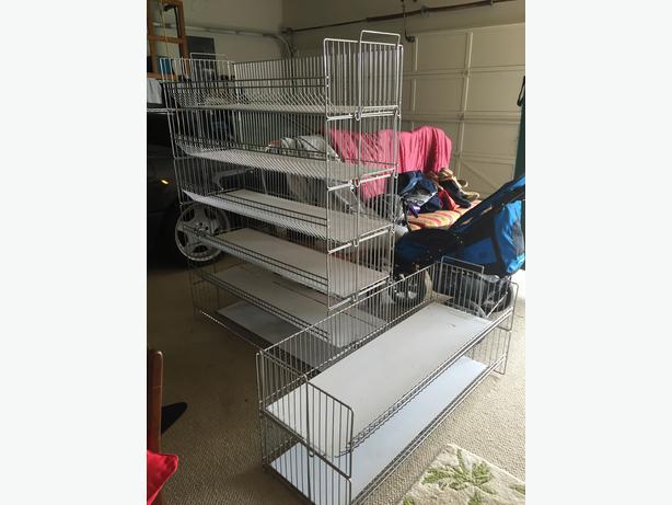 Stackable Wire Baskets Storage Units Saanich Victoria