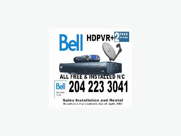 bell satellite receiver installation