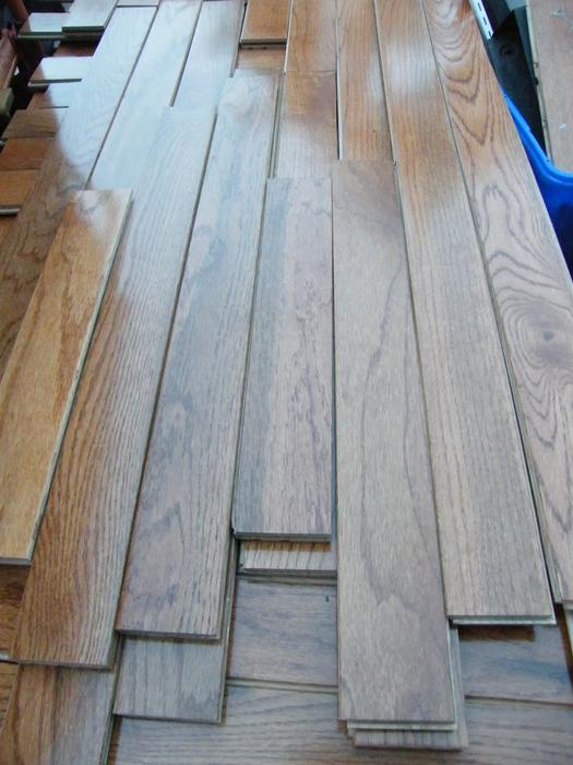 Solid oak tongue and groove wood flooring victoria city for Hardwood flooring york region