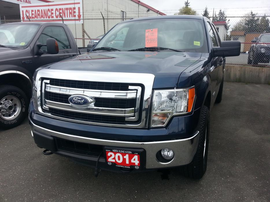 2014 ford f 150 crew cab ecoboost campbell river comox valley mobile. Black Bedroom Furniture Sets. Home Design Ideas