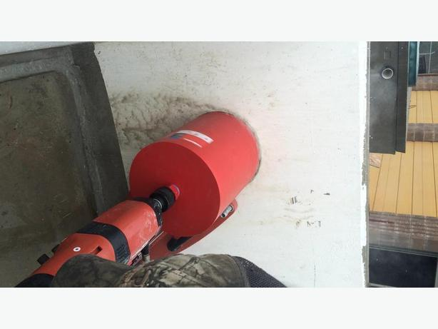 Concrete cutting and coring and Grinding