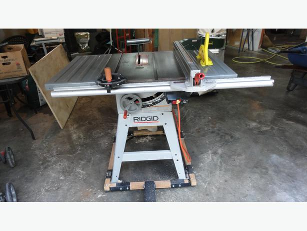 Table Saw Heavy Duty : Heavy duty table saw and accesseries lantzville nanaimo