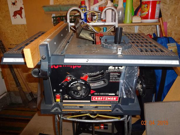 Craftsman 10 inch table saw with stand north nanaimo nanaimo for 10 inch craftsman table saw