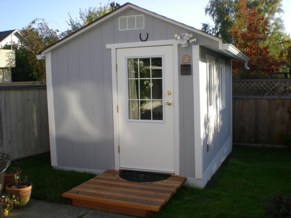Crossland storage sheds built on your land outside for Garden shed victoria