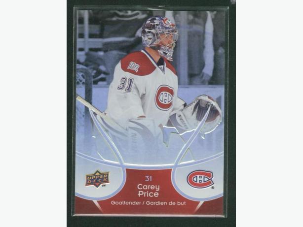 2009/2010 Upper Deck McDonald's #24 Carey Price Montreal Canadiens