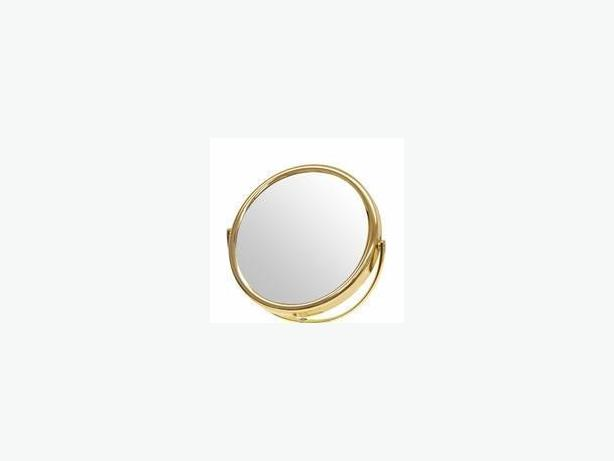 """Frasco 5"""" Brass Beauty Mirror (Double Sided) Brand New with Tag"""