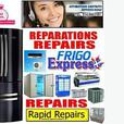 RAPID APPLIANCE REPAIR 514-9963181 FRIDGE A/C HEAT PUMP COLD ROOM REPARATION