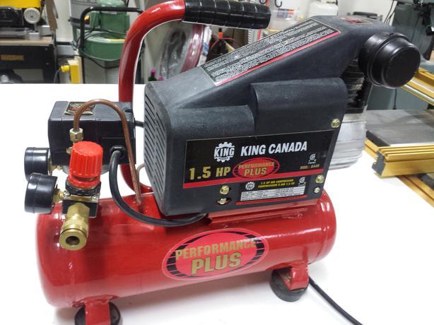 King Air Air Compressors : King canada air compressor hp comox campbell river