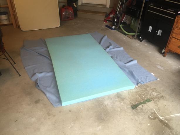 twin novaform comfortluxe gel memory foam mattress topper - Novaform Mattress