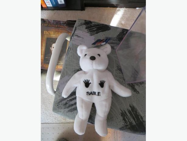 WWF Sable Attitude Bear - (reduced)