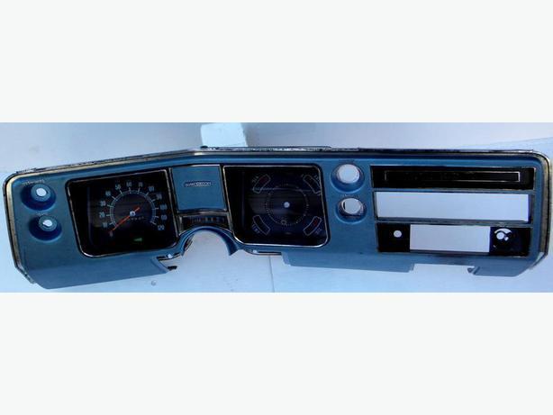 68 Chevy Chevelle Malibu ElCamino Speedometer Cluster