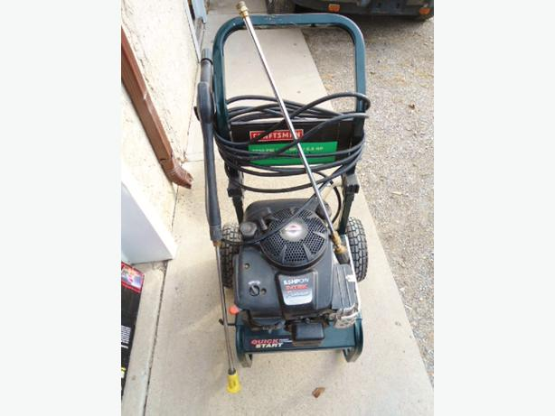 how to change pump oil on a craftsman pressure washer