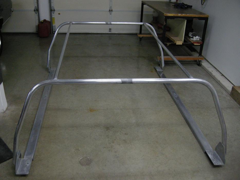 Aluminum Boat Racks : Welded aluminum boat rack courtenay campbell river