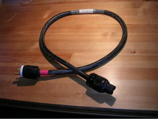 Audiophile Mains Power Cable (1.2meters), 10 AWG. New