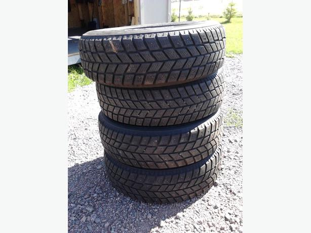 studded tires for sale queens county pei. Black Bedroom Furniture Sets. Home Design Ideas