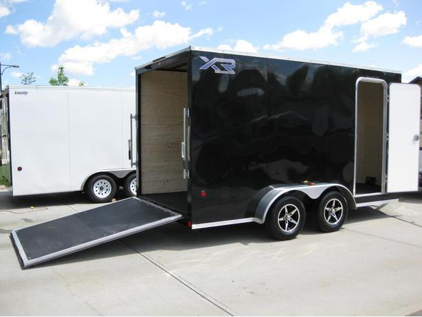 7' X 16' XR7 V-NOSE c/w EXTRA HEIGHT CABLE FREE REAR DOOR