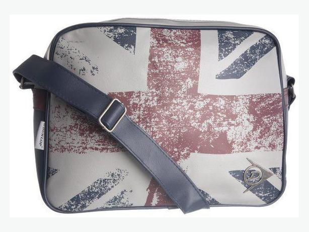 Brand New Dunlop England Flag Unisex Cross Shoulder Flight Bag