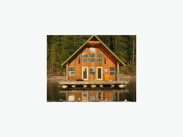 Float Home For Sale Great Central Lake Outside Victoria