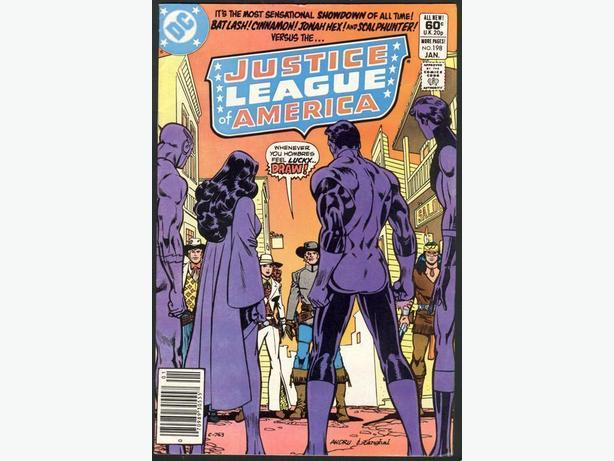 Justice League Of America #198 January 1982 Copper Age Jonah Hex