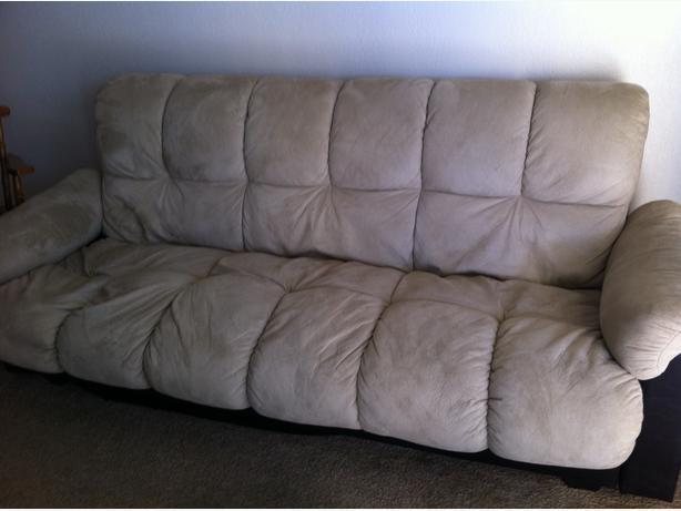 Sofa bed with storage 60 obo victoria city victoria for Sofa bed 60s