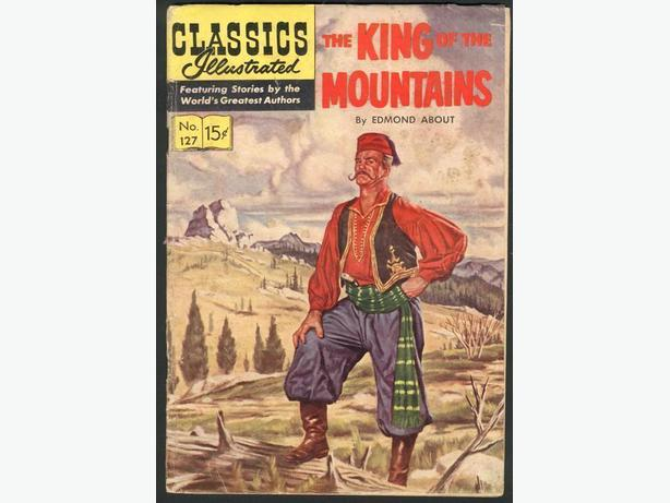 Classics Illustrated #127 July 1955 First Printing