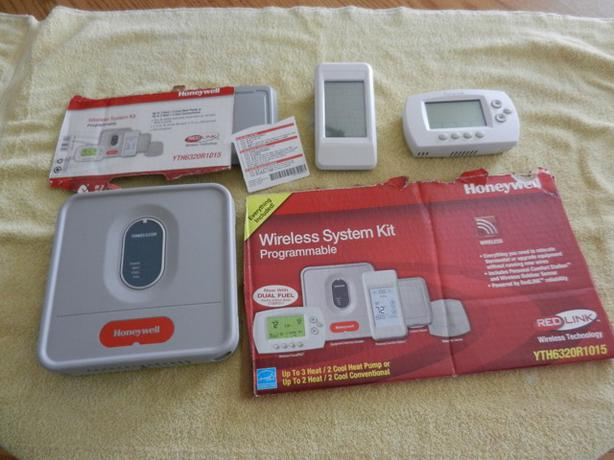 Honeywell Wireless Heat/Cool Controls