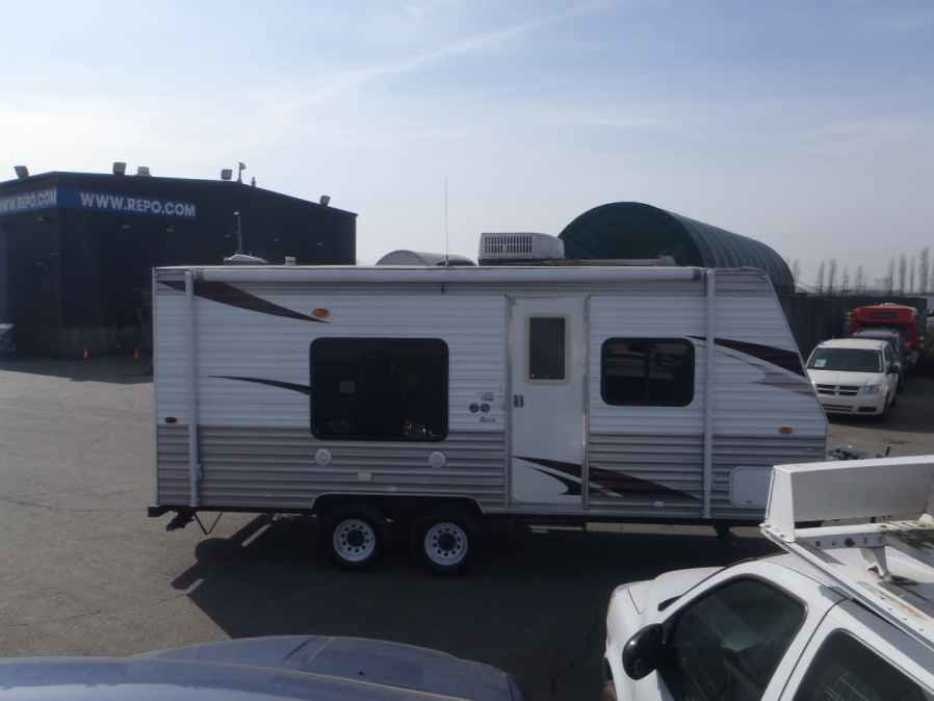 2010 Forest River Grey Wolf T20rb Travel Trailer Outside