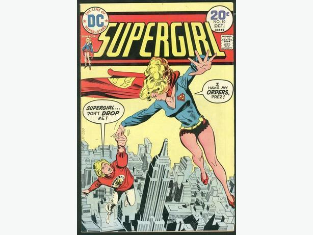 Supergirl #10 October 1974 Bronze Age Last issue