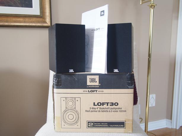 jbl loft 30 compact 100-watt bookshelf speakers 1