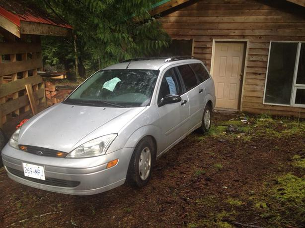 2002 ford focus wagon denman island comox valley. Black Bedroom Furniture Sets. Home Design Ideas
