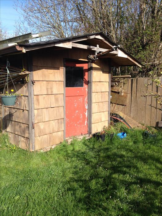 Free garden shed north saanich sidney victoria for Garden shed victoria