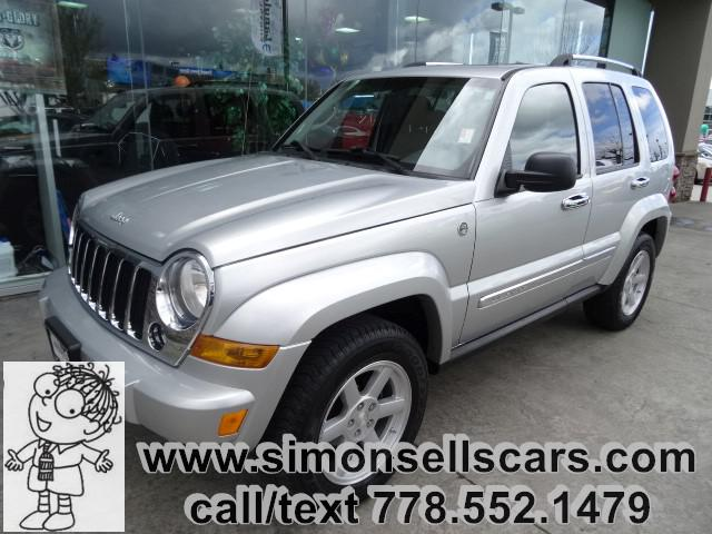 2007 jeep liberty limited loaded with leather langley vancouver mobile. Black Bedroom Furniture Sets. Home Design Ideas