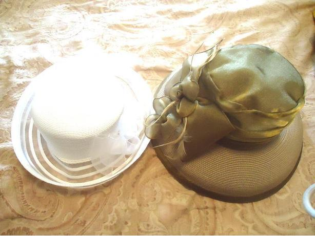Fancy Wedding & Church Dress Hats by Farbella - New with Tag