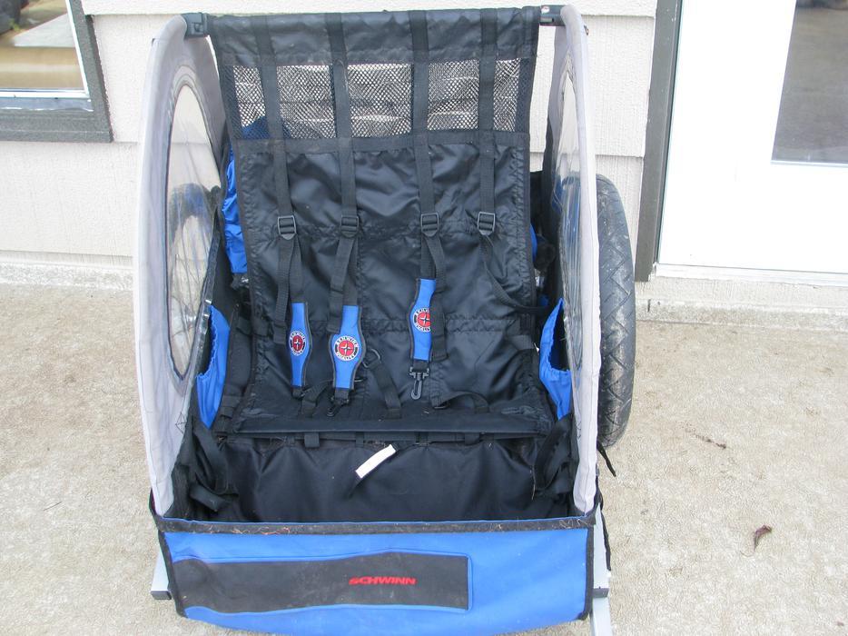 Schwinn Two Seat Kids Bike Trailer Crofton Cowichan