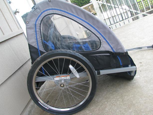 2 Seater Schwinn Bike Parts : Schwinn two seat kids bike trailer crofton cowichan mobile